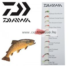 Daiwa Buzzers Selection DFC-9 műlégy szett NEW Collection