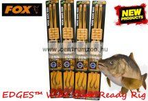 Fox EDGES™ 15lb, 8 size Wide Gape Ready Rig Barbed  (CCR147) ELŐKÖTÖTT BOJLIS HOROG