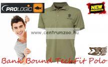 Prologic Bank Bound TechFit Polo - galléros póló (59270 59271 59272 59273) több méret