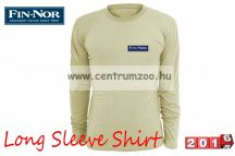 Fin-Nor Long Sleeve Shirt sand color hosszúujjú póló (8938003)
