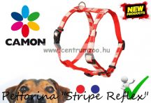 Camon Pettorina Stripe Reflex kutyahám - KÉK 10mm (DC056/B)