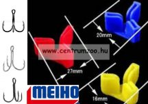 Meiho Safety cover Japan - prémium horogvédő hármashoroghoz Small (5800822)  SÁRGA