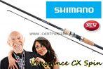 Shimano bot Vengeance CX 240H Cork 20-50g Spinning - pergető bot (SVCX24HC)
