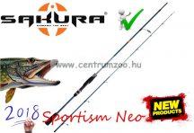 Sakura Sportism Neo Spinning SPNS 704 MH All In One 2,13m  7-30g pergető és casting bot (SAPRC806670)