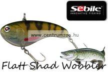 Sebile® Flatt Shad megbízható wobbler FS-050-XH Natural Perch  (1404994)