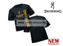Browning Fishing T-Shirt black póló  (8922006)