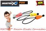 Fox Matrix Dacron Orange Elastic Connectors gumizott tag kiegészítő (GAC017)