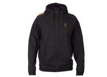 FOX Black & Orange Lightweight Hoodie pulóver LARGE (CCL027)
