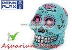 PENN PLAX Cukor koponya kék 5x3,8x5,7cm akvárium dekorációs szobrocska (091797)