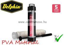 Delphin PVA Material - vízben oldódó PVA zacskó töltőcsövön + tömő 65mm 5m (851035140)