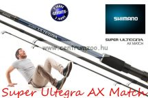 Shimano bot SUPER ULTEGRA AX MATCH 42F 420cm 20g 3rész (SULTAX42F)