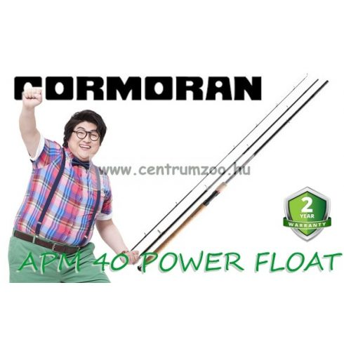 Cormoran APM 40 POWER FLOAT úszós bot 3,90m 10-40g (25-4040391)
