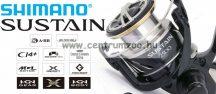 Shimano Sustain 2500 HG FI elsőfékes orsó (SA2500HGFI)