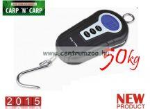 MÉRLEG - Carp Zoom Foldable Handle Digital Scales - Fogantyús Digitális mérleg, 50kg (CZ7970)