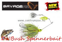 SAVAGE GEAR Da'Bush Spinnerbait 42g #4 Yellow Silver Holo Flame villantó (42150)