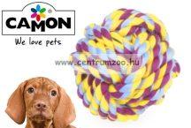 Camon Cotonosso Plus palla intrecciata -TARTÓS fogtisztító kötéllabda játék  80mm  (AD065/B)