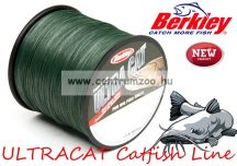 Berkley Ultracat Moss Green Super Strong 250m 0,30mm 40kg fonott zsinór