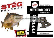 Stég Product - Method Mix - Black Mixture 800g feeder etető anyag