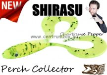 Balzer Shirasu Perch Collector  gumihal  7cm 4g (0013675407) Chartreuse Pepper