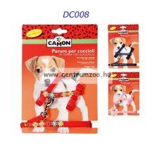 Camon Parure per cuccioli kutyahám + póráz több színben (DC008)