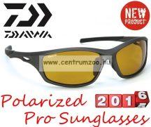 Daiwa Polarized Sunglasses black frame amber lens modell DPROPSG10 -borostyánszín lencse (202731)