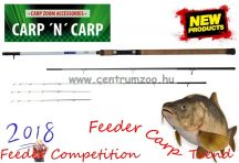 Carp Zoom Feeder Competition Carp Feeder 390cm 60-160g  3+3 részes feeder bot (CZ6759)