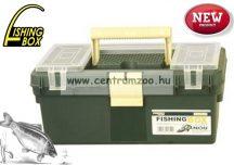 FISHING BOX SPINNER TIP.312 szerelékes horgászláda 37x21x17 cm (75076-310)