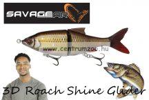 Savage Gear 3D Roach Shine Glider135 13.5cm 29g SS 02-Rudd PHP gumihal (62247)