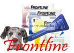 """FRONTLINE Spot On """"XL"""" kullancs és bolha elleni csepp 40-60kg közti kutyáknak NEW"""