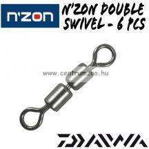 DAIWA N'ZON DOUBLE SWIVEL  8-as  6db (13313-008)