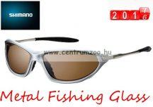 Shimano napszemüveg Metal Fishing Glass - Water Repellent (HG-071N) Brown Lens