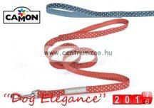 Camon Dog Elegance Blue 15mmx1,2m textil póráz (DC062/H) kék