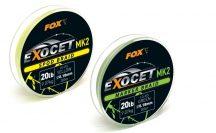 Fox Exocet® MK2  Spod Braid Yellow 20lb 0.18mm 300m fonott zsinór (CBL013)