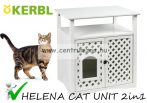 Kerbl HELENA CAT UNIT 2in1 cicabútor 64x46x65cm (82662)