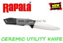 RAPALA RCD CEREMIC UTILITY KNIFE prémium kerámia horgászkés (RCDCUKB4)