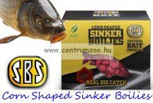 SBS Corn Shaped Sinker Boilies fűzhető csali 8-10mm 60g - Krill & Halibut (rák-óriás laposhal)  (30115)
