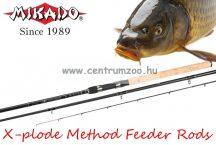 Mikado X-plode Method Feeder 330cm 120g 2+3r feeder bot  (WAA246-330)