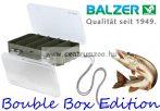 Balzer Bouble Box Edition szerelékes doboz 18x4,5x11cm (18330035)