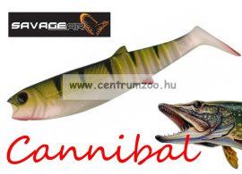 SAVAGE GEAR LB Cannibal Play Body  8cm gumihal Perch (61845)
