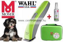 Moser Prima Trim Pet trimmelő kutyanyíró gép kofferben + spray (1586-0061)