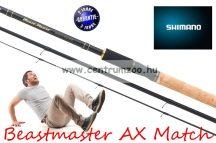 SHIMANO bot BEASTMASTER MATCH 450SPC 450cm 30g 3rész (BMAX45SPC)
