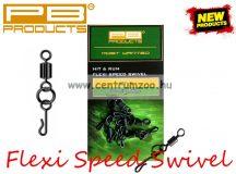 PB Products Flexi Ring Speed Swivel gyorskapocs 8db (FRS)
