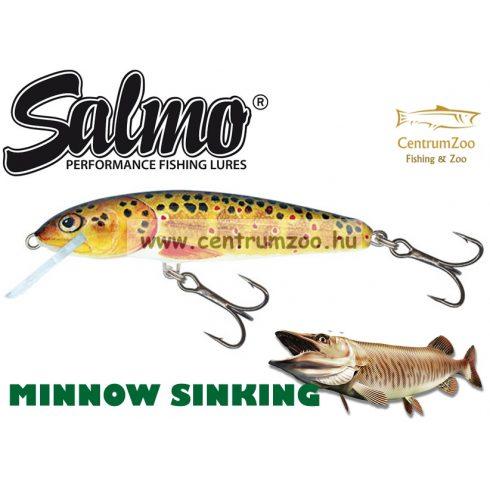 Salmo Minnow Sinking Lure 5cm Hot Perch QMW009