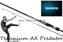 Shimano bot Technium AX Predator SPINNING 8'6 XXH SS 259cm 45-135g 1+1r (TECAXF86XXHSS) pergető bot