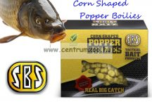 SBS Corn Shaped Popper Boilies kukorica formájú  lebegő mini bojli 40g Krill & Halibut (rák-óriás laposhal) (30015)