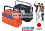 Meiho Bucket Mouth BM-5000 Japan - prémium horgászláda  44x29x29cm (5712712) NARANCS