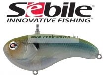 Sebile® Flatt Shad megbízható wobbler FS-066-SK - Green Back Ghost GBGH (1405005)