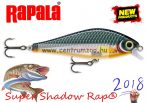 Rapala SSDR16 HLW Super Shadow Rap® Rapala wobbler