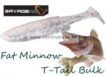 SAVAGE GEAR LB Fat Minnow T-Tail 10,5cm 11g gumihal White Silver (61820)