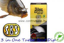 SBS 3 in One Turbo Bait Dip - Green Crab (zöld rák)  80 ml (14137)